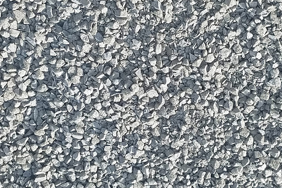 products - rock - 1in minus crushed quarry rock